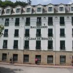 Balneario Las Caldas de Besaya, fachada principal